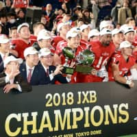 Frontiers ease past IBM for third straight Japan X Bowl title