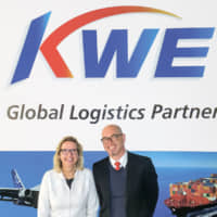Anita Koulis, Commercial Director and Rolf Moor, Managing Director of KWE Switzerland