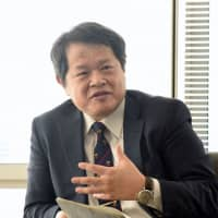 Japan Agency for Medical Research and Development President Makoto Suematsu believes Japan can present solutions at the forefront of various issues such as a graying society. | SATOKO KAWASAKI