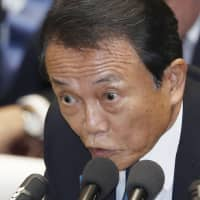 Taro Aso pledges to keep Japan's economy strong as October's consumption tax hike looms