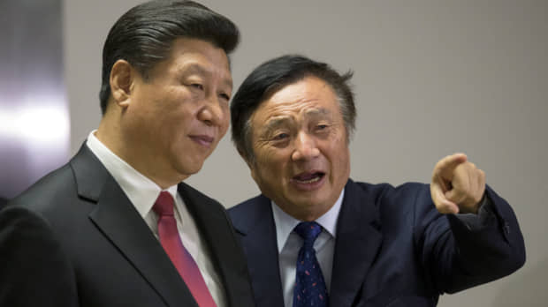 Huawei founder says company would not share user secrets and hasn't been asked to by Beijing