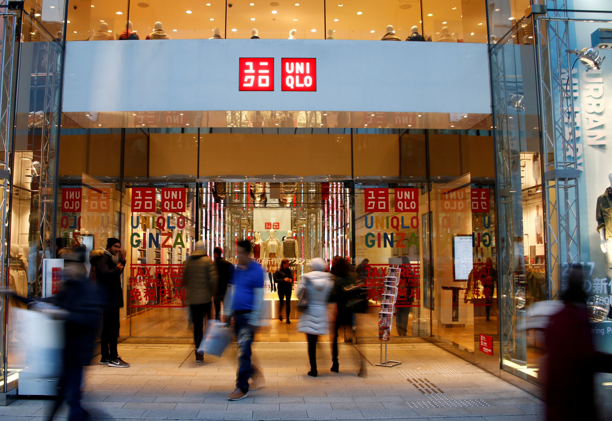 Fast Retailing's Uniqlo business in Japan performed particularly badly in September to November, with operating profit down 30 percent from the same period a year earlier. | REUTERS