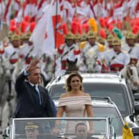 Brazil inaugurates far-right firebrand junta fan Jair Bolsonaro as president