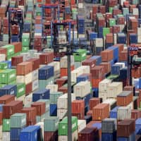 Containers in the port of Hamburg, Germany | AP