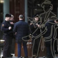 Russian police detain suspect after bold gallery heist