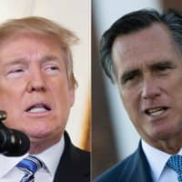 Trump tweets return fire after incoming GOP Sen. Mitt Romney blasts his character