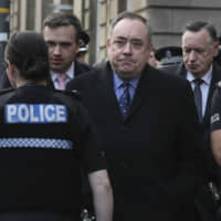 Former Scottish leader Salmond, top figure in independence movement, charged with attempted rape