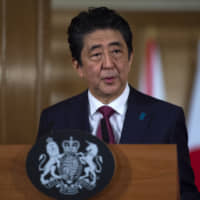 Abe says Japan is 'using various channels' to talk with North Korea, including over possible summit with Kim Jong Un