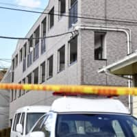 A 10-year girl was found dead on Jan. 24 in this apartment in Noda, Chiba Prefecture. Her father, Yuichiro Kurihara, was arrested Friday for allegedly assaulting her. | KYODO