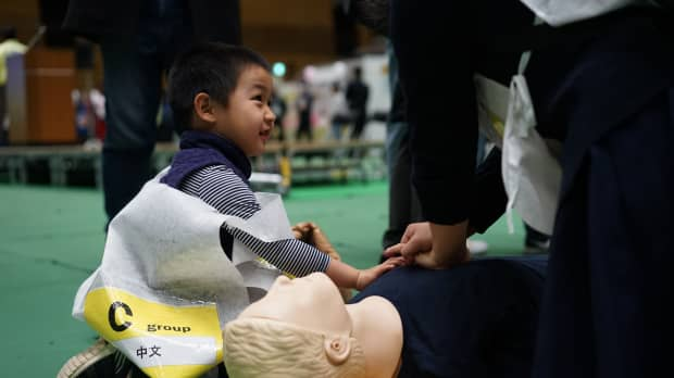 Tokyo's foreign residents prepare for worst at multilingual disaster drill