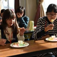 Students tasked with developing dishes using Fukushima produce to promote prefecture's recovery