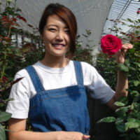 With her edible organic roses, Saitama entrepreneur tastes success at an early age