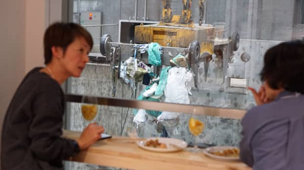 Trash talk: Tokyo city opens bar in waste-management facility to spark environment debate