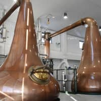 Hokkaido's Akkeshi Distillery uses vats from Forsyths, a supplier based in Scotland. | KYODO