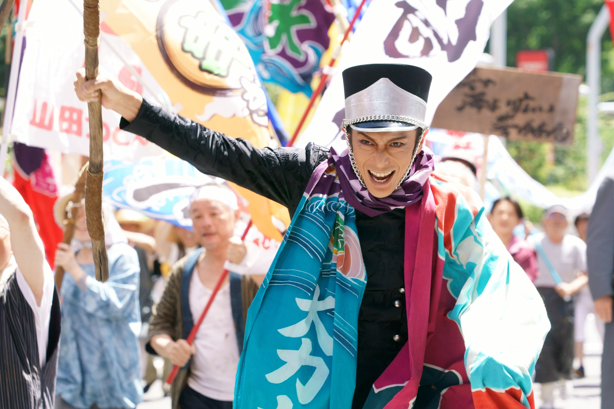 Capital punishment: In 'Fly Me to the Saitama,' Tokyo's northern neighbors rebel against Japan's ruling city. | ©2019 'FLY ME TO THE SAITAMA' FILM PARTNERS