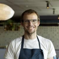 Culinary star: Chef Thomas Frebel of Inua, whose restaurant is in contention for the Arrival of the Year award. | JASON LOUCAS