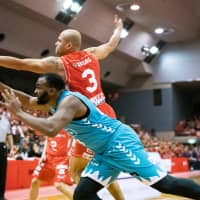 Veteran forward Michael Parker's defensive skills and hustle have played a big part in Chiba's current six-game winning streak through Sunday. | B. LEAGUE