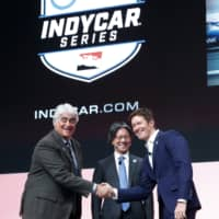 NTT to become title sponsor for IndyCar racing series