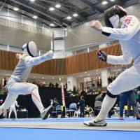 Marquee meet provides valuable testing ground for Japanese fencers
