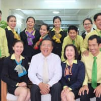 Maxima Microfinance's staff in 2017 at the company's office in Phnom Penh, Cambodia. Maxima Microfinance is a Gojo & Company Inc. subsidiary that provides microfinancing services to small businesses in the Southeast Asian country. | GOJO & COMPANY
