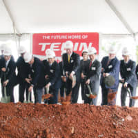 Teijin Limited breaks ground on its new facility in June 2018.
