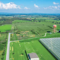 Virginia's first commerce park stands on 4 million square meters of build-ready land situated near vital transport infrastructure. | © NRV COMMERCE PARK