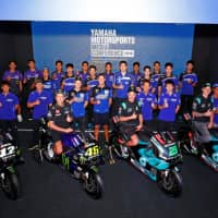Yamaha's Factory and Supported Teams and Riders for 2019