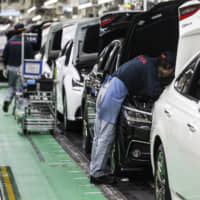 Labor unions from Japan's major automakers submitted their requests to management on Wednesday. | BLOOMBERG