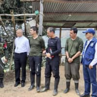 Colombia's ELN rebels free cash-transport helicopter crew but keep the money