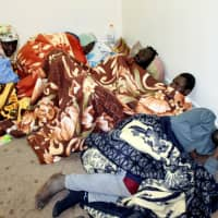 Aid effort brings little relief for migrants trapped in Libya limbo