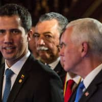 U.S. veep Mike Pence and allies mull new steps against Maduro after deadly aid violence