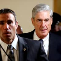 Special Counsel Robert Mueller is seen on Capitol Hill in Washington in June 2017.   REUTERS