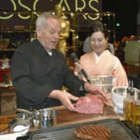 Chef Wolfgang Puck orders extra 100 kg of Miyazaki beef for exclusive Oscars after-party