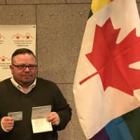 Gender-neutral Canadian activist shows solidarity with Japan's LGBT communities