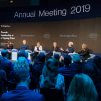 At Davos, a continued push for gender equality in global leadership positions
