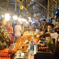 Malin Plaza in Patong offers an array of street food options. | JOEL TANSEY