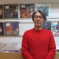 On the record:  Yusuke Ogawa, proprietor of Universounds in Tokyo has dedicated his life to the medium of vinyl. | KATHERINE WHATLEY
