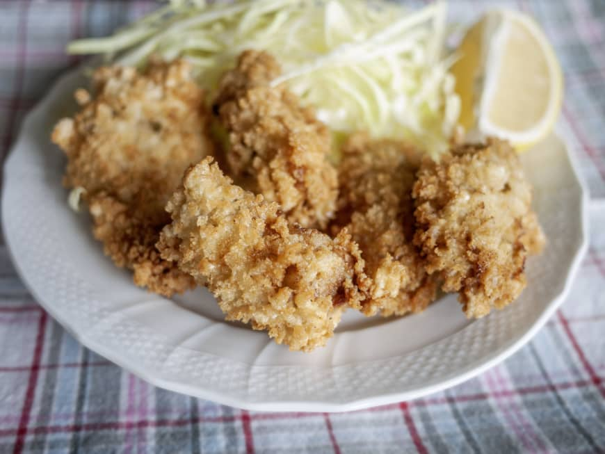 Not only raw: Kaki furai (fried osyters) are one of Japan's most beloved Western-influenced dishes.   MAKIKO ITOH