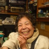 A neighborhood character: Toyoko Nakagawa, proprietor of Stand Toyo, is a beloved figure in Jigokudani. | MATT KAUFMAN