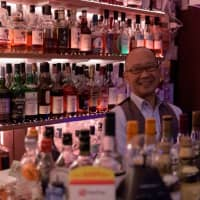The keeper of Jigokudani's history: Bartender Kazuhide Yokota has been fascinated with Jigokudani since he was a boy. | TSUYOSHI TAGAWA