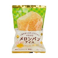 FamilyMart's popular melon bread ice cream doesn't skip on the melon or the butter