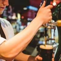Golden rule: If you're running an Irish pub there should be plenty of Guiness and a limit on the Union Jacks.   GETTY IMAGES