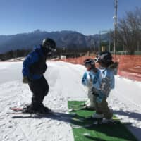 The smooth way to go skiing with kids