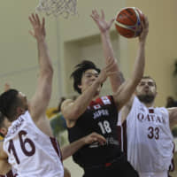 Japan routs Qatar to secure berth in basketball World Cup