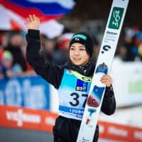 Sara Takanashi places second in normal hill event on World Cup circuit