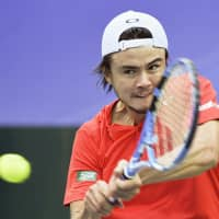 Japan rallies to beat China in Davis Cup qualifying