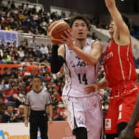 SeaHorses star Kosuke Kanamaru delivers shooting clinic in victory over Evessa