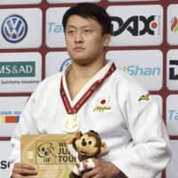Hisayoshi Harasawa wins over 100-kg title at Dusseldorf Grand Slam