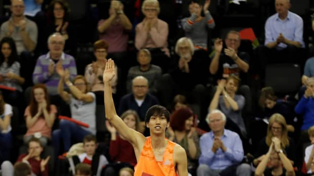 Naoto Tobe sets sight on world title after indoor triumph
