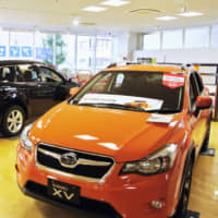The planned consumption tax hike in October is expected to have a limited impact on new vehicle sales. | KYODO